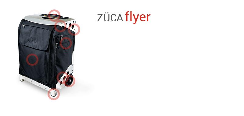 Buy Flyer Artist Black Silver Bag Z 220 Ca