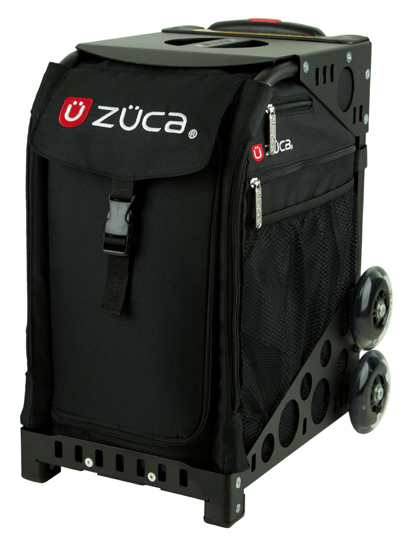 ZUCA Bag VELVET RAIN Insert /& Black Frame w//Flashing Wheels FREE SEAT CUSHION