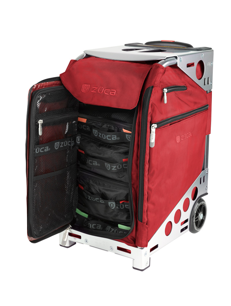 Pro Travel Ruby Red/Silver