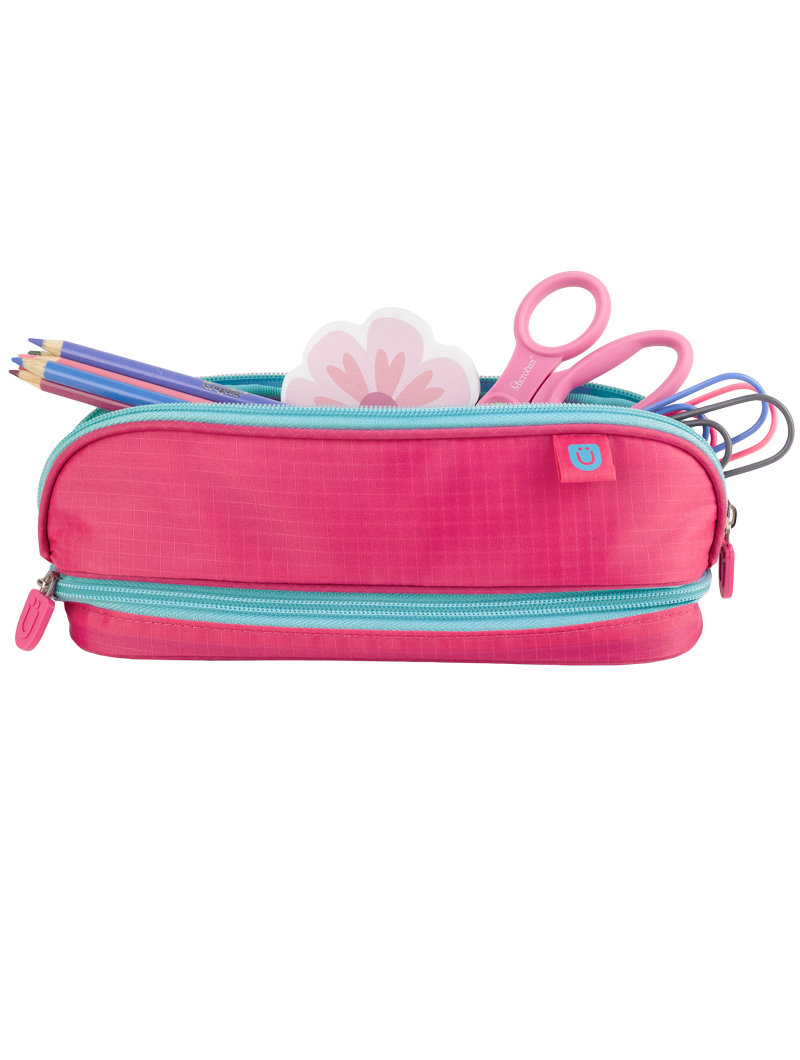 Pencil Case, Pink/Blue