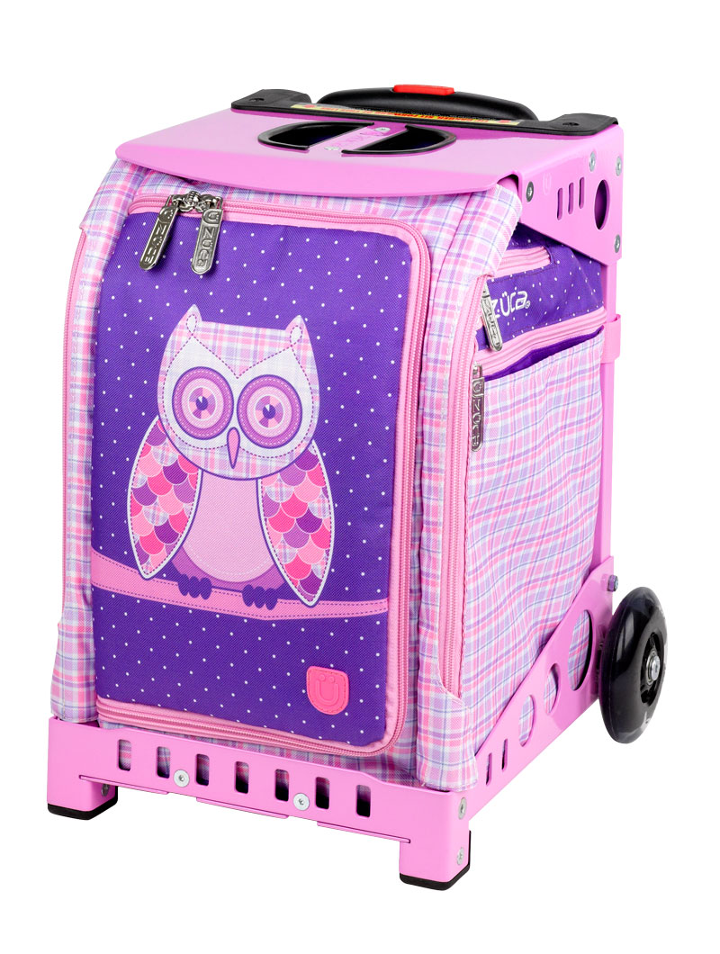 Mini Owl Pink Frame Flashing Wheelset