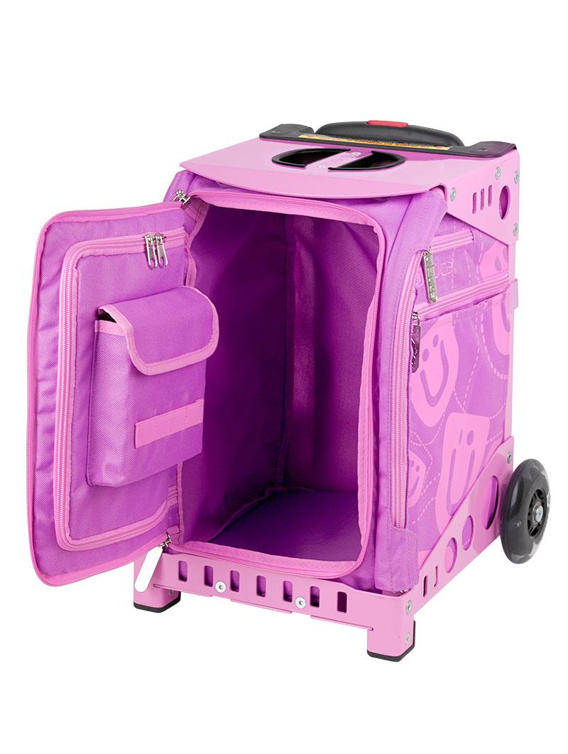 mini smile pinkpink frame flashing wheels - Zuca Frame
