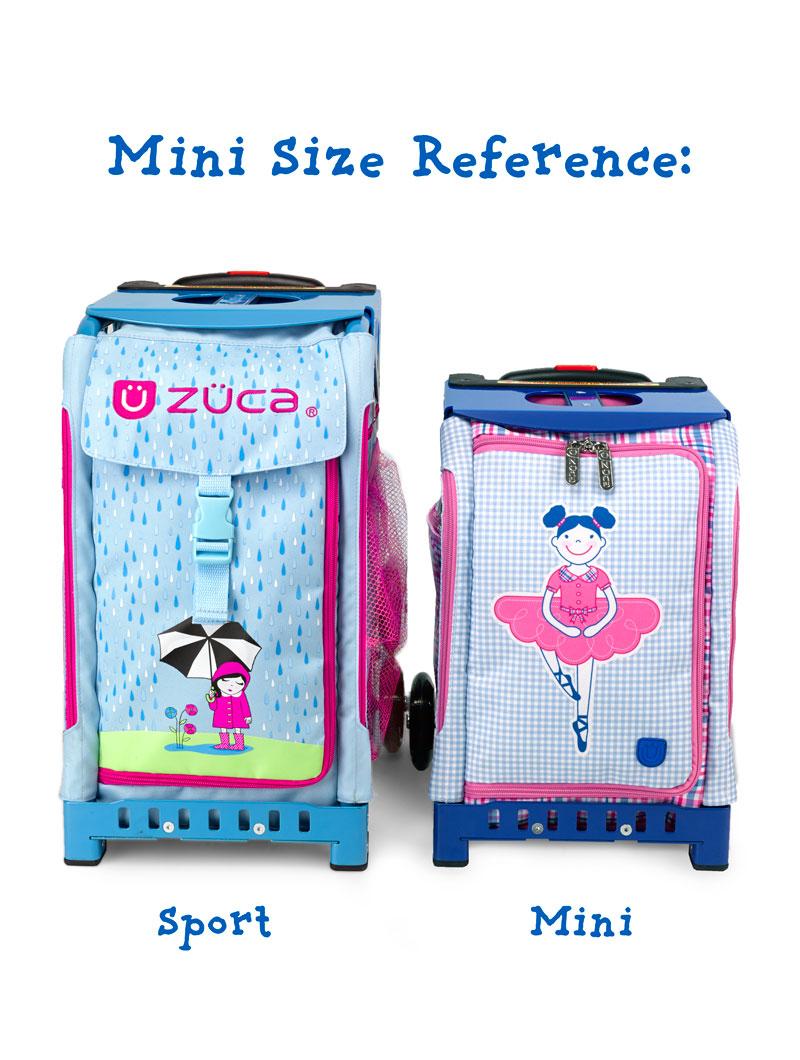 Buy Mini Smile Pink/Pink Frame Flashing Wheels Bag - ZÜCA