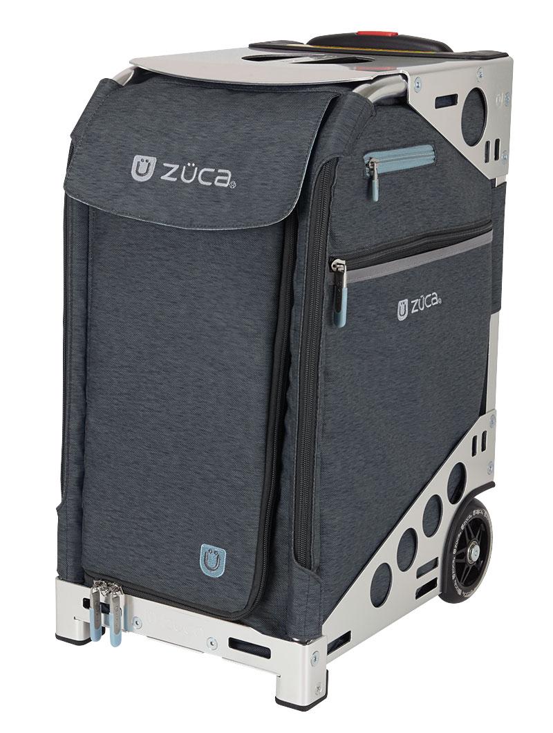 Zuca Pro Makeup Case Uk: Buy Pro Heather Slate/Silver Bag