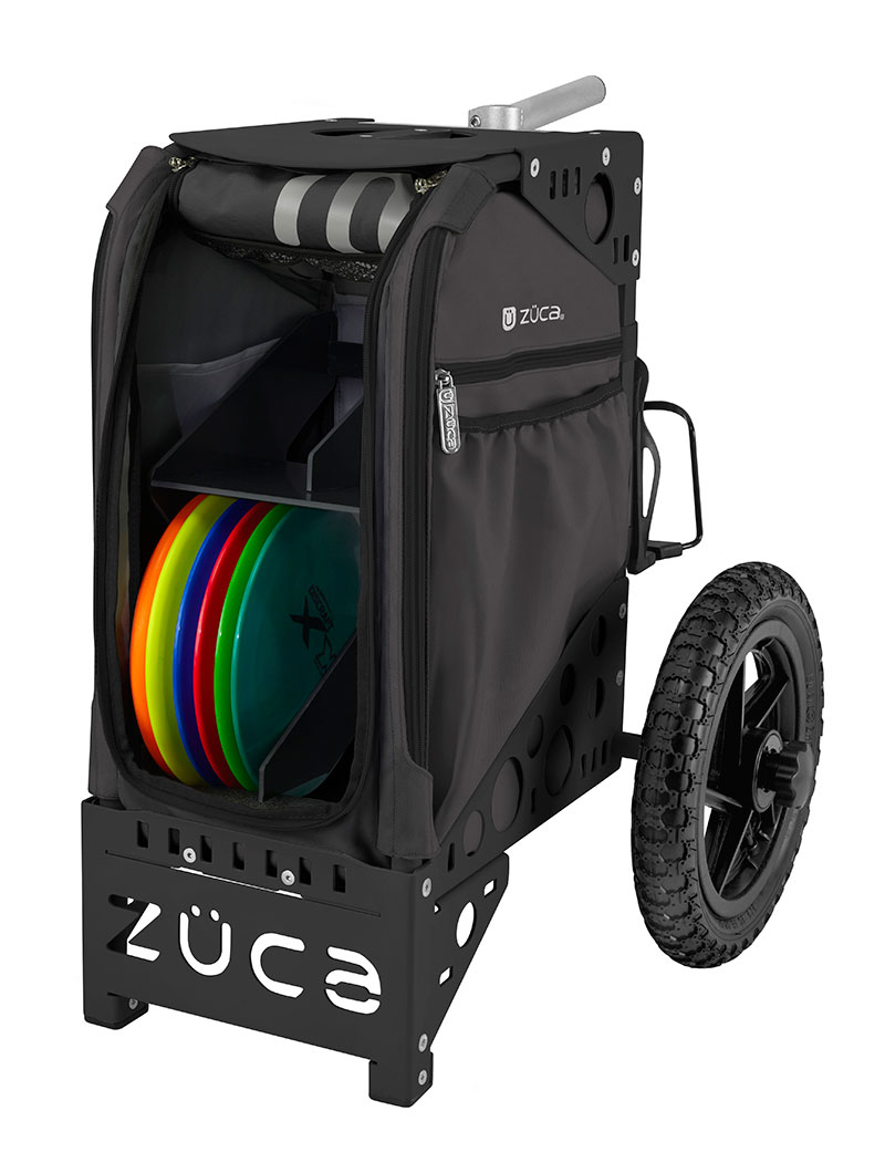 Disc Golf Cart-Gunmetal/Black
