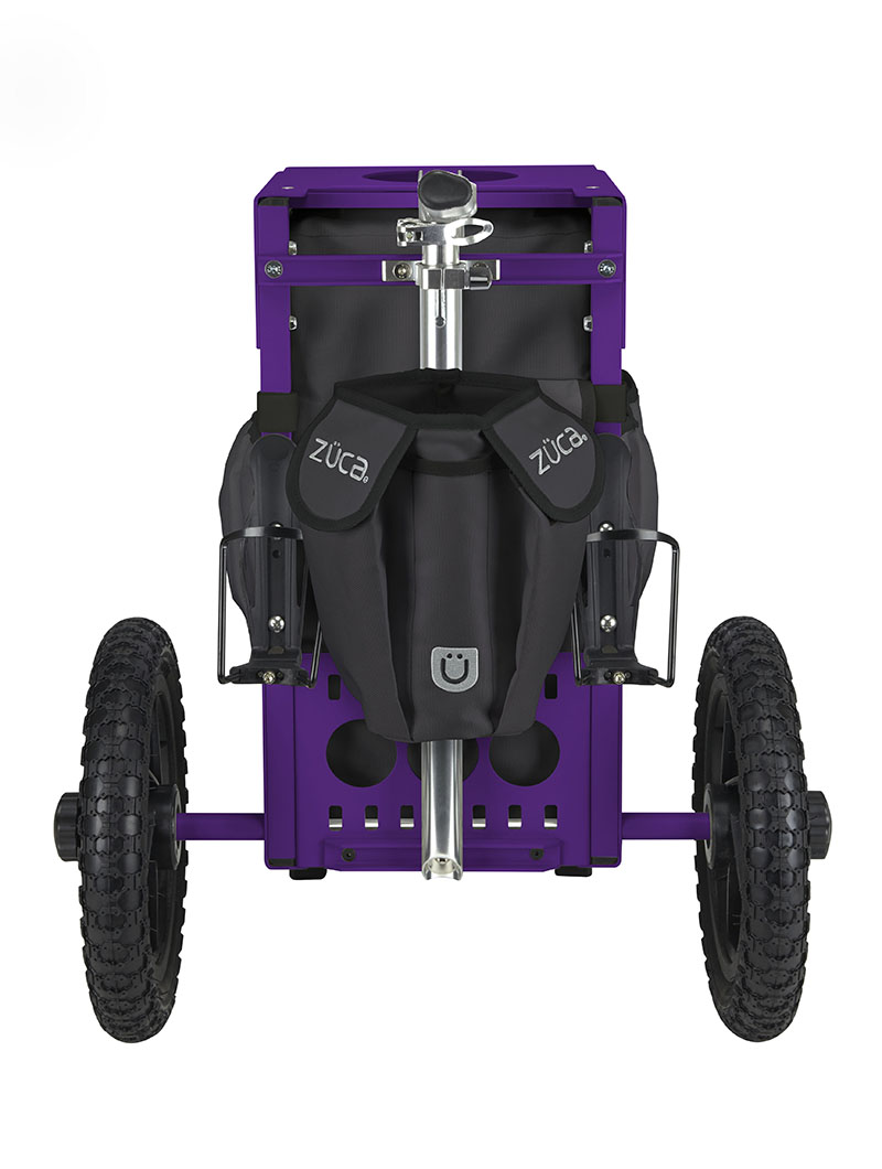 Disc Golf Cart Gunmetal/Purple
