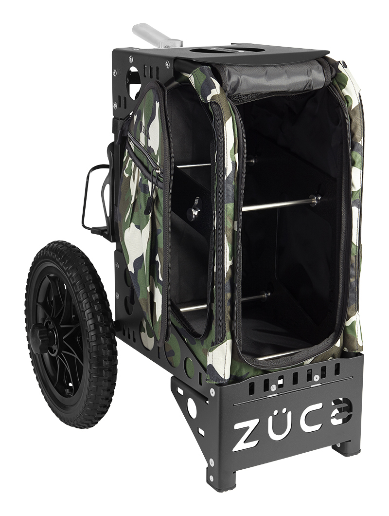 Disc Golf Cart Camo/Black