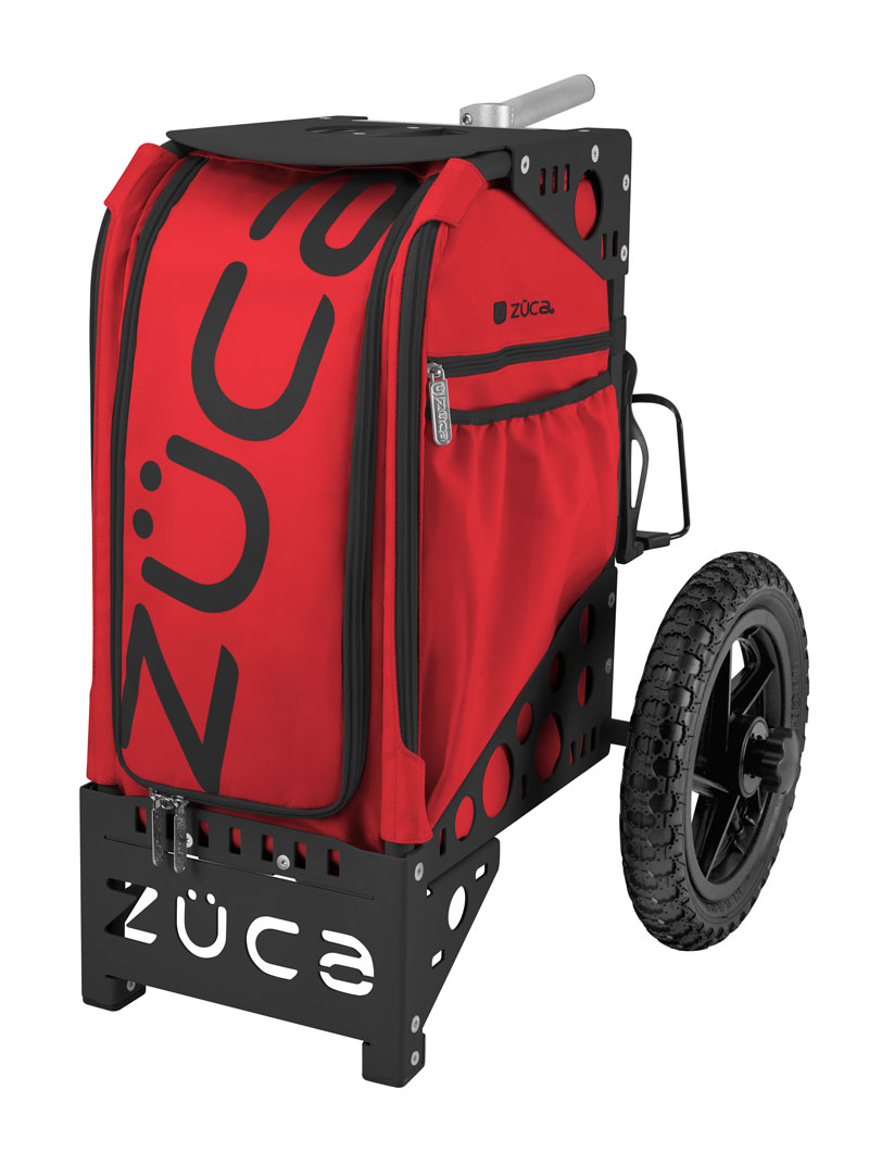 Disc Golf Cart Infrared/Black