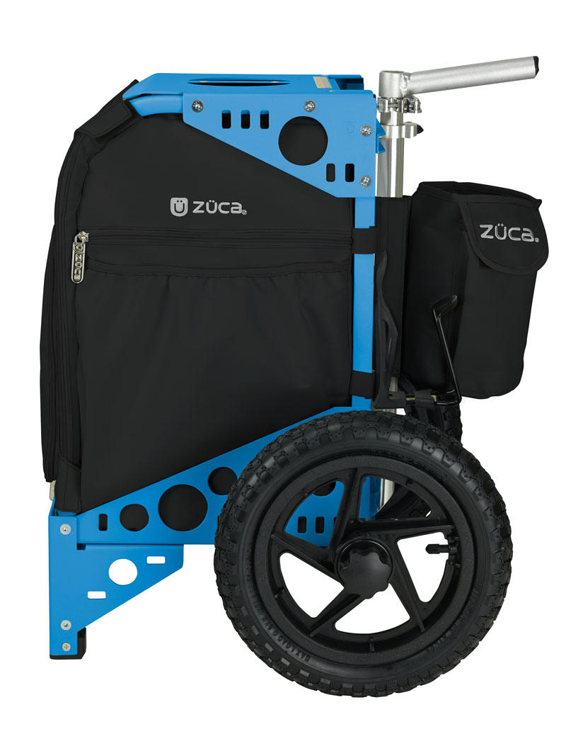 Disc Golf Cart Onyx/Blue
