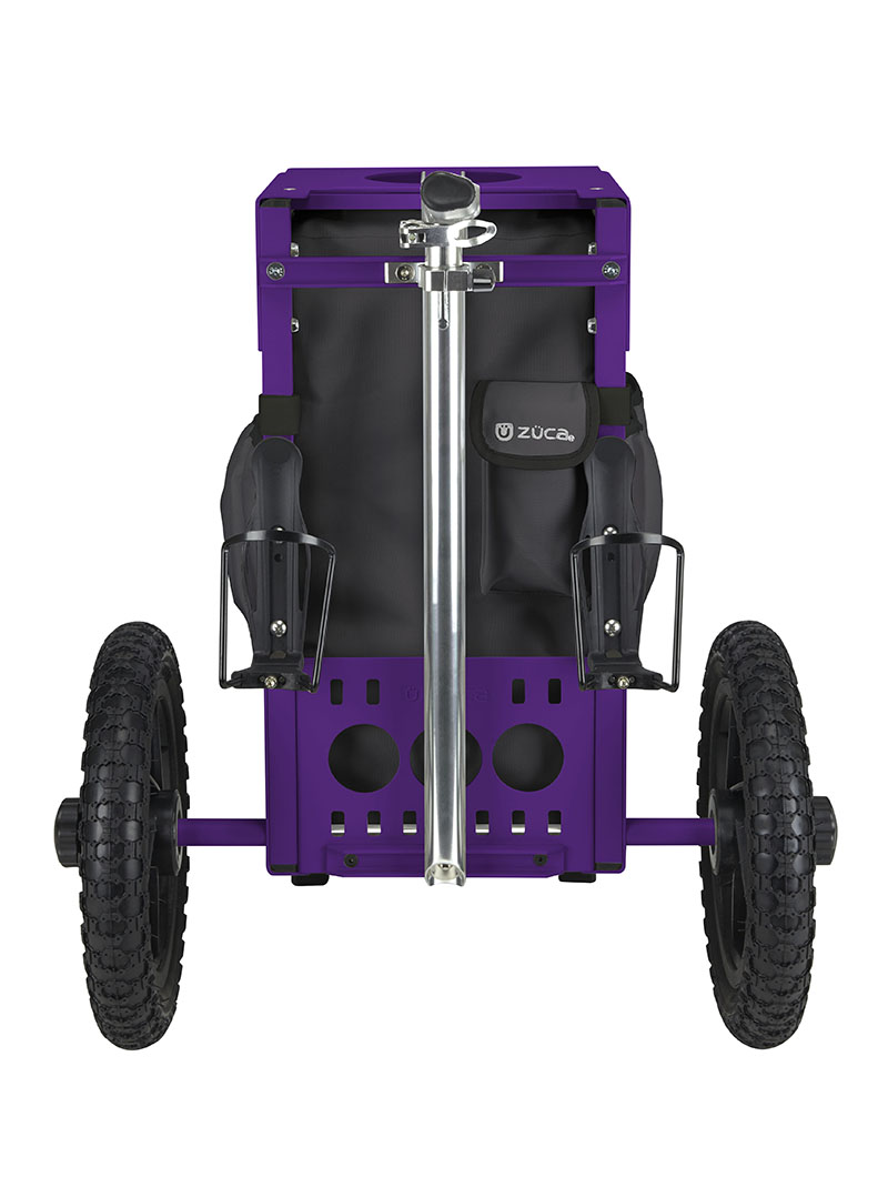 All-Terrain Cart Gunmetal/Purple