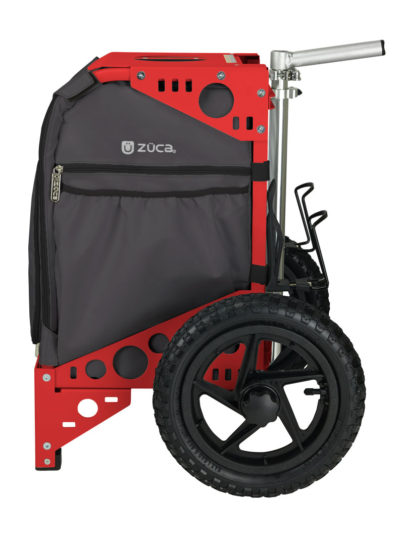 All-Terrain Cart Gunmetal/Red