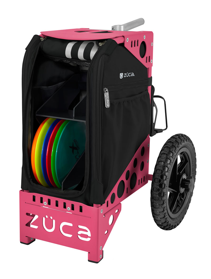 Disc Golf Cart Onyx/Pink