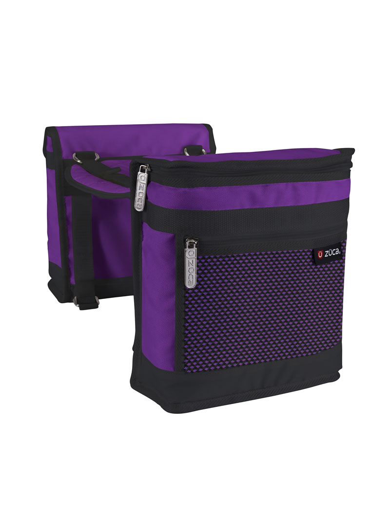 Saddle Bag Set, Purple