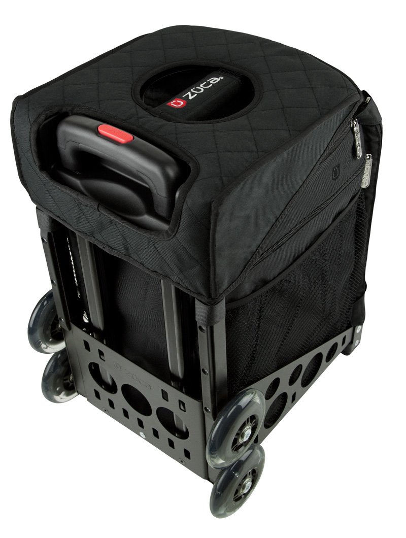 Seat Cushion, Black/Black