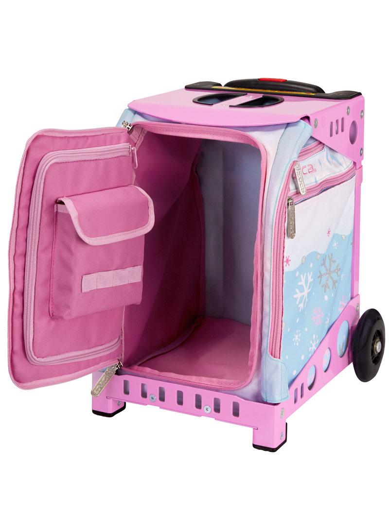 Buy Mini Hello Kitty Winter Fun Pink Frame Flashing Wheels Bag ... e74a778a02