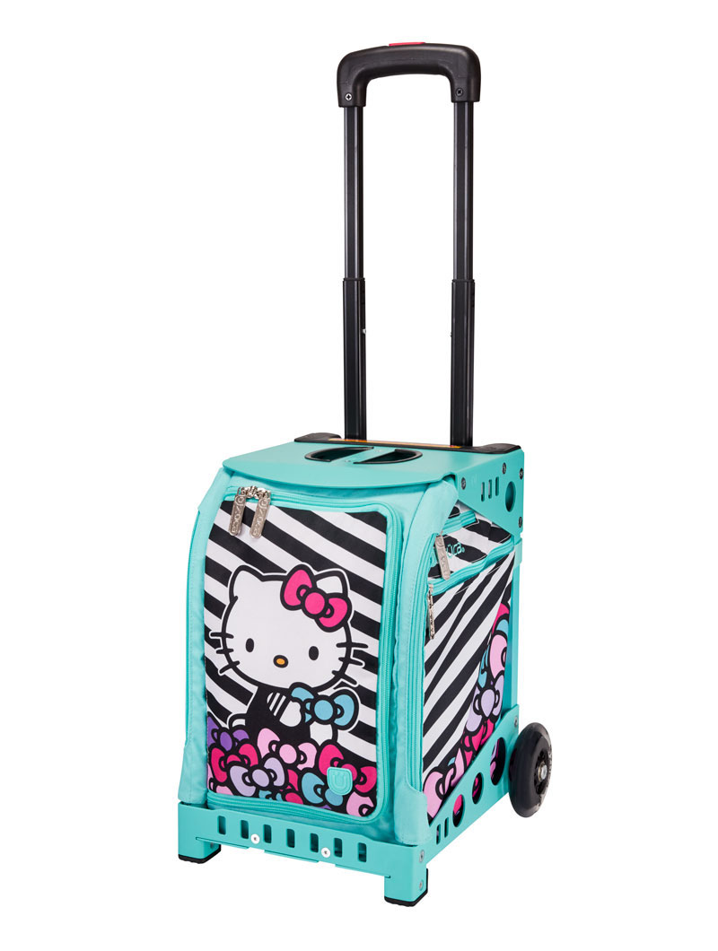 Buy Mini Hello Kitty Stripes Amp Bows Aqua Frame Flashing