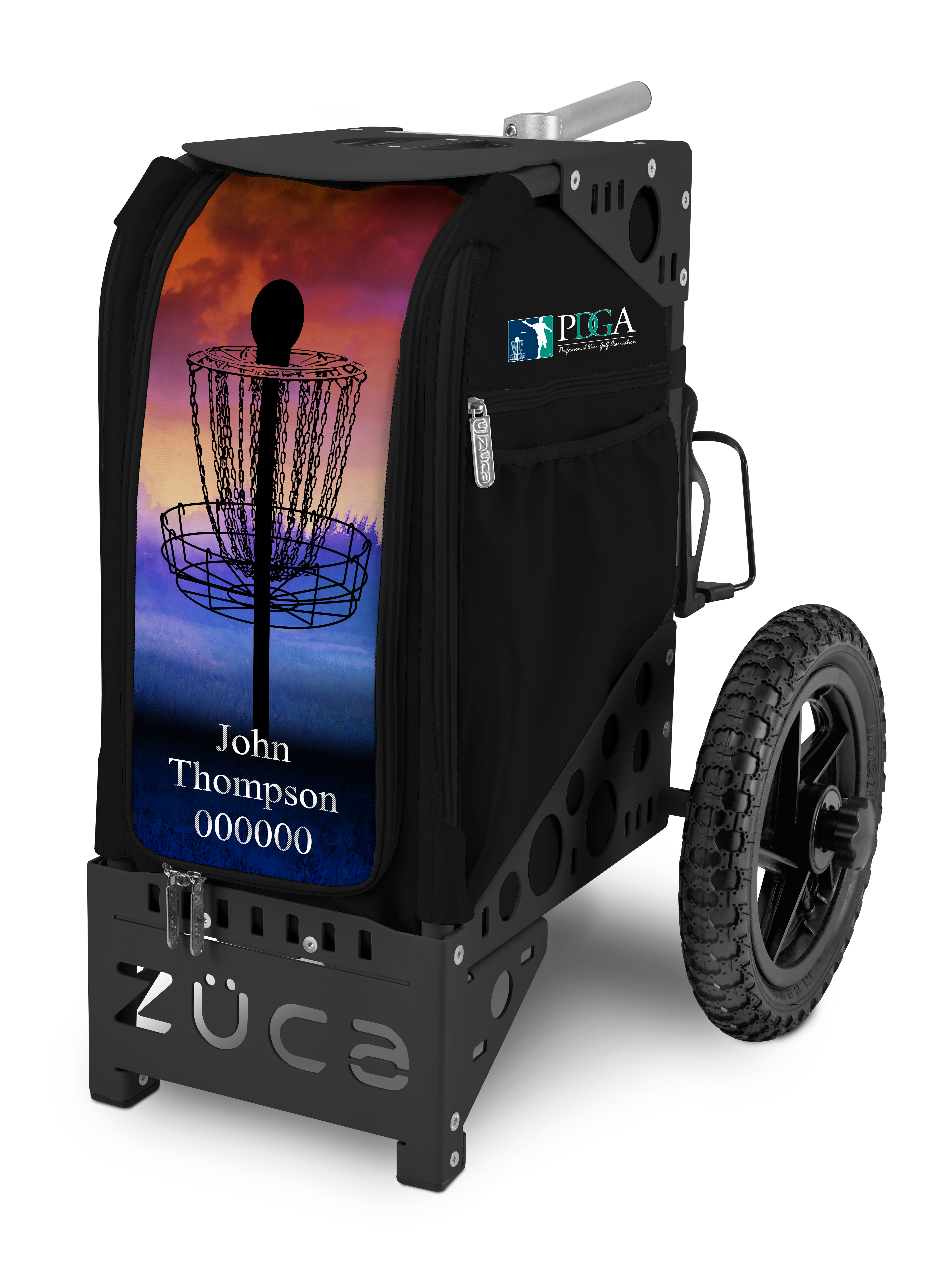 Pdga Limited Edition Disc Golf Cart Black