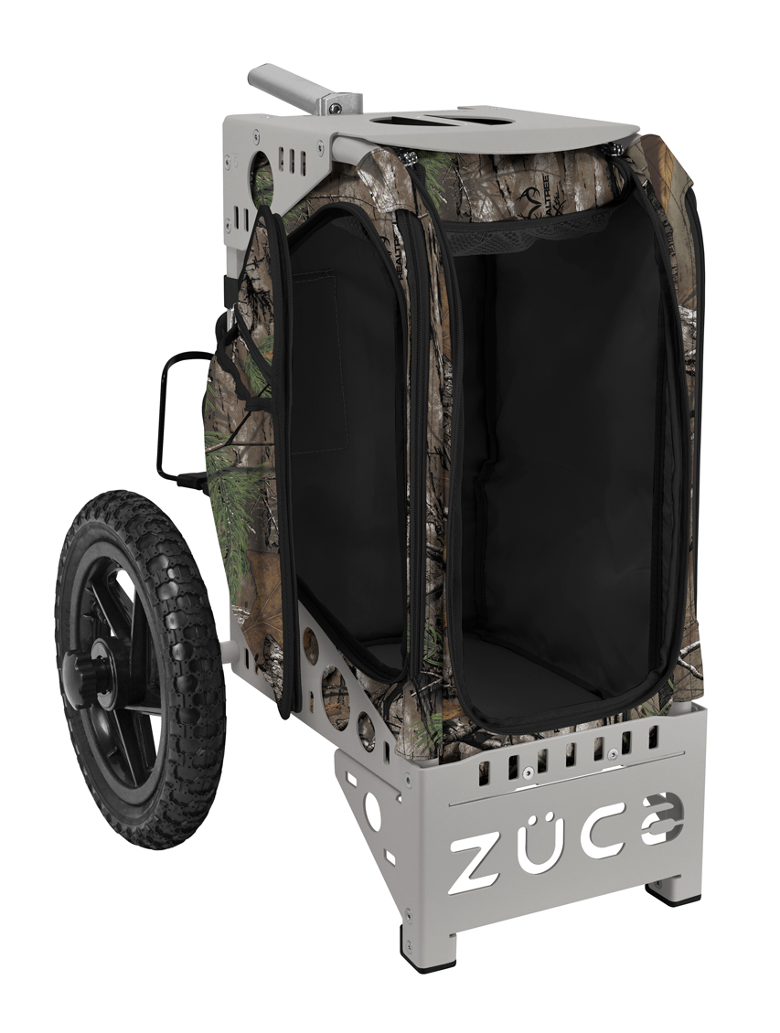 Disc Golf Cart Realtree Xtra Camo/Gray