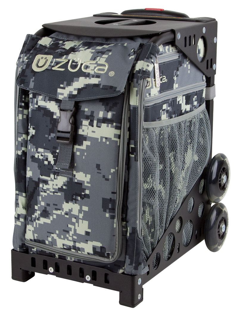 Kid's Rolling School Bag - Anaconda/Black Frame