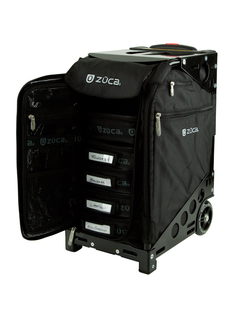 Artist Bag With Seat Pro Black