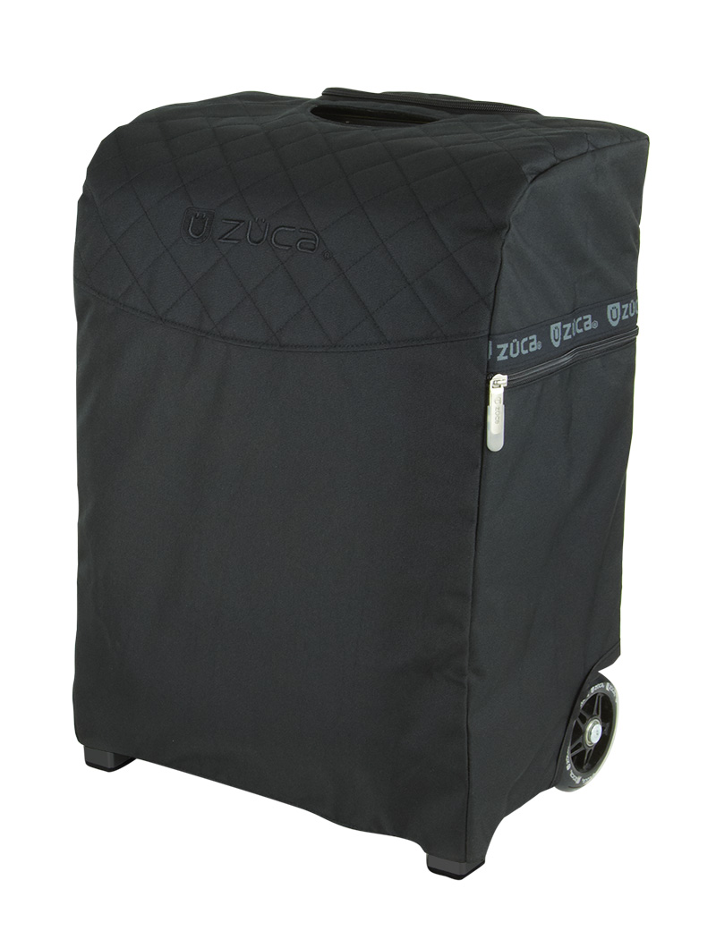 Rolling Hair Stylist Artist Bag with Seat - Flyer Artist Black/Black