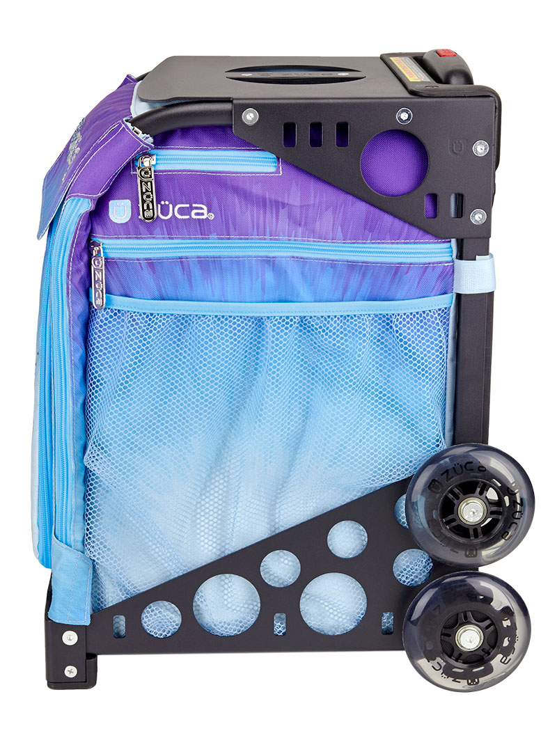 Ice Skating Bag with Wheels - Ice Dreamz/Purple Frame