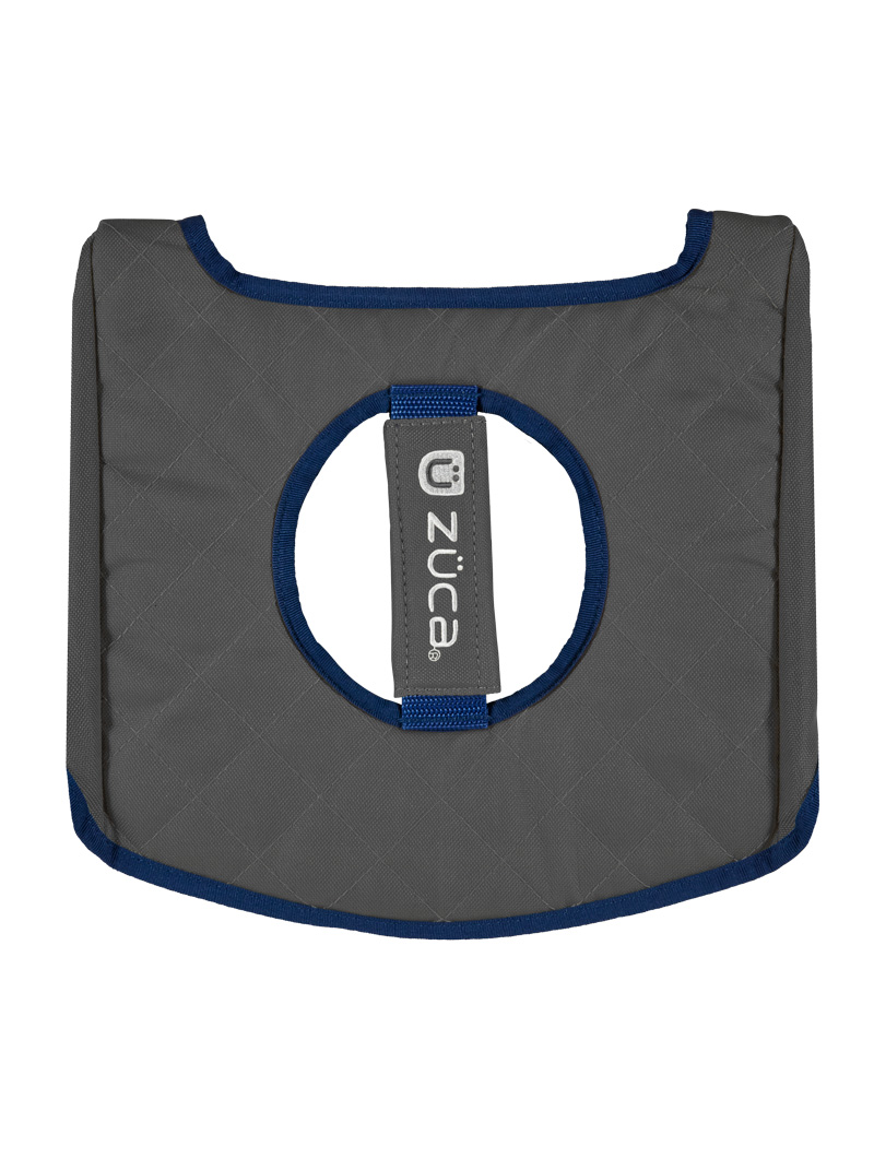 Seat Cushion, Navy/Gray