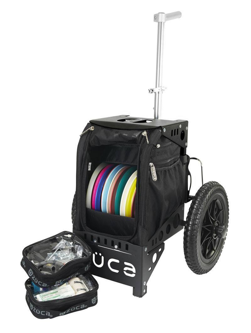 Compact Disc Golf Cart/Black