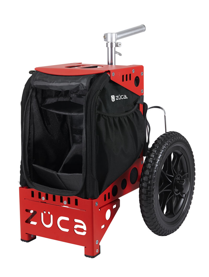 Compact Disc Golf Cart/Red