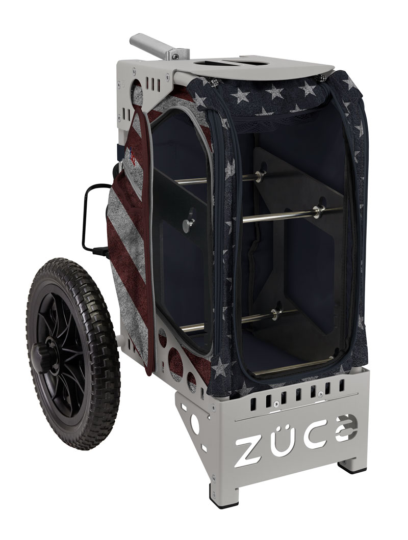 Old Glory Disc Golf Cart/Gray