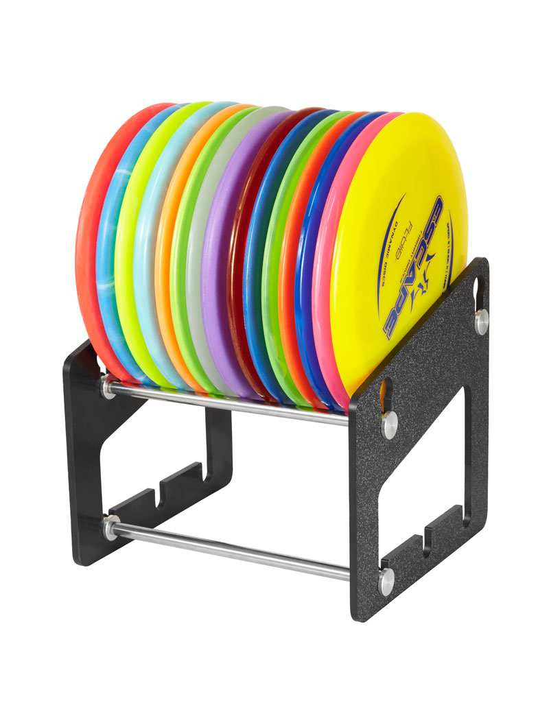 Compact Disc Golf Rack