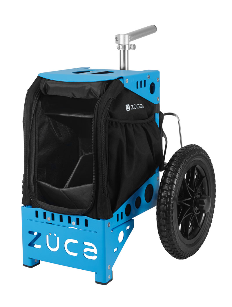 Compact Disc Golf Cart/Blue