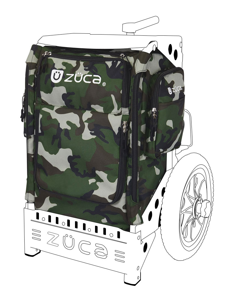 Trekker Disc Golf Insert Bag/Woodland Camo