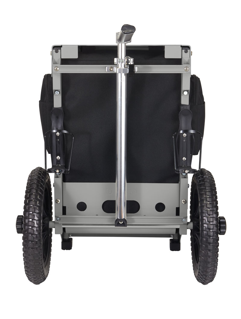 Trekker Disc Golf Cart Black/Gray
