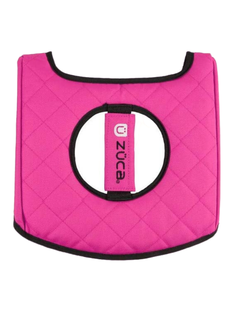 Seat Cushion, Hot Pink/Black