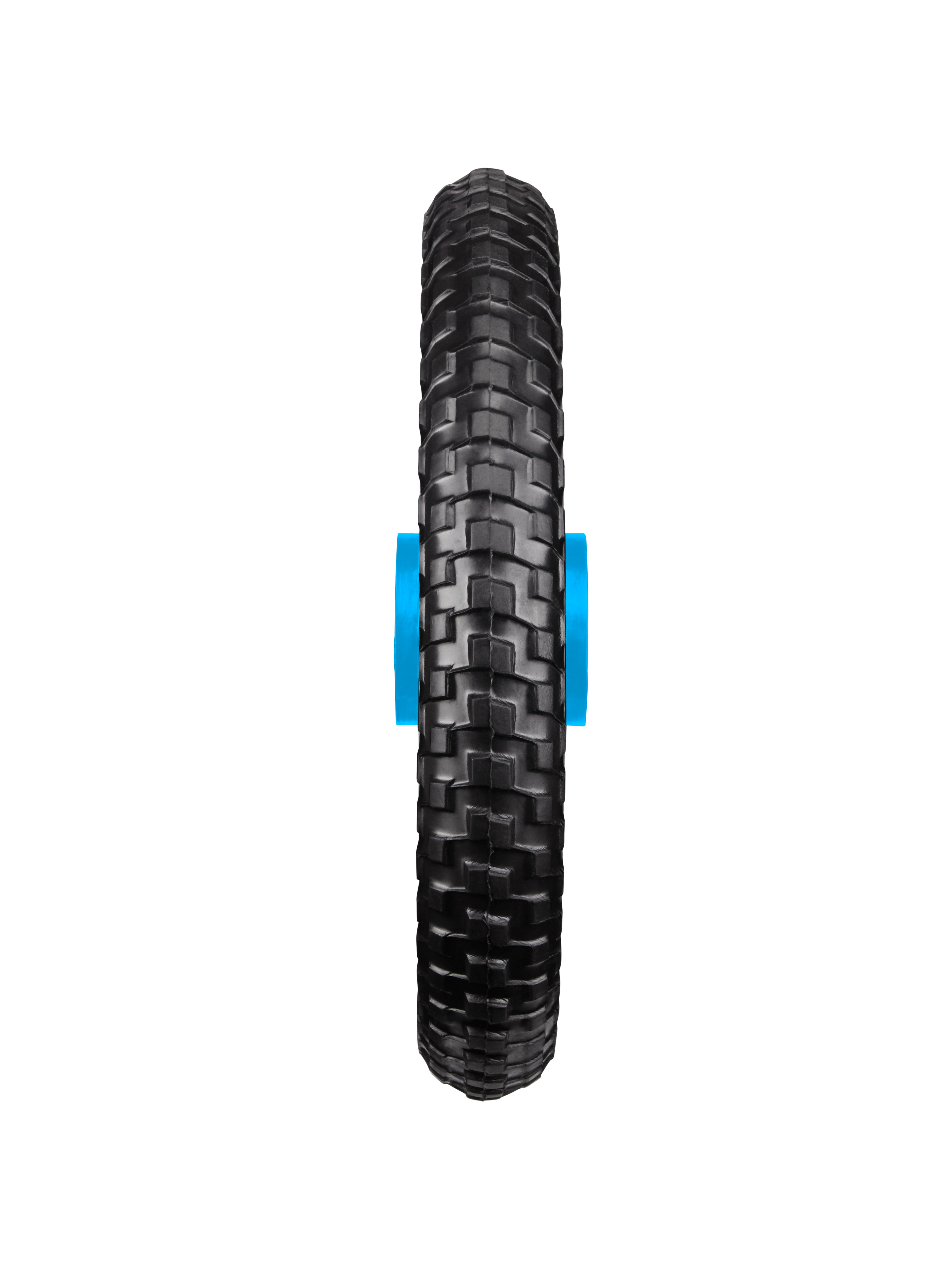 All-Terrain Tubeless Foam Wheel, Blue