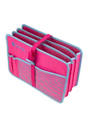 Document Organizer, Pink/Blue