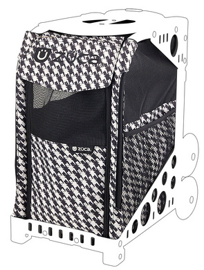 Houndstooth Black P/C (Insert Only)