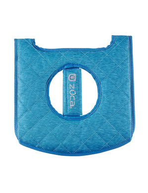 Seat Cushion, Heather Aqua