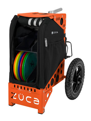 Disc Golf Cart Onyx/Orange