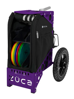 Disc Golf Cart Onyx/Purple