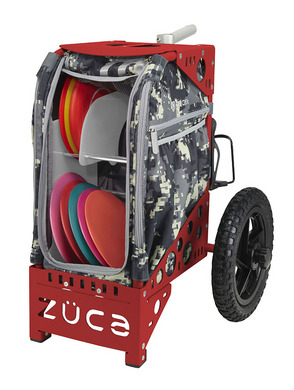 Disc Golf Cart Anaconda/Red