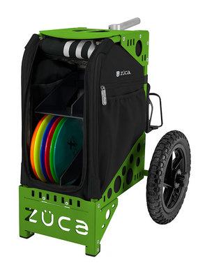 Disc Golf Cart Onyx/Green