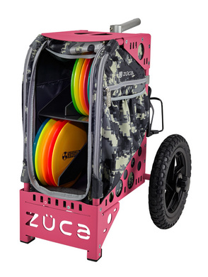 Disc Golf Cart Anaconda/Pink