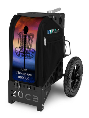 PDGA Limited Edition Disc Golf Cart/Black