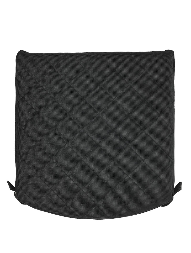 Padded Seat Cushion, Black