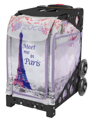 Meet Me In Paris/Black Frame Non-Flashing Whels