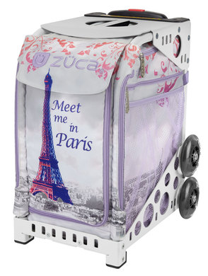 Meet Me In Paris/White Frame