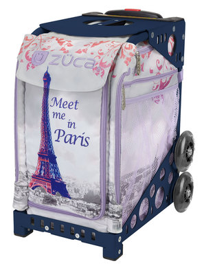 Meet Me In Paris/Navy Frame