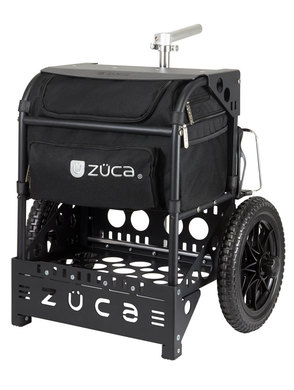 Transit Disc Golf Cart - Matte Black